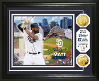 Matt Kemp Gold Coin Photo Mint
