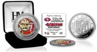 Colin Kaepernick Silver Color Coin