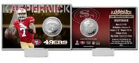 Colin Kaepernick Silver Coin Card