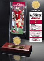 Colin Kaepernick Ticket & Bronze Coin Acrylic Desk Top