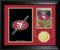 San Francisco 49ers Framed Memories Desktop Photo Mint