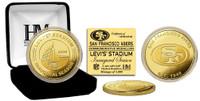 Levi's Stadium Inaugural Season Gold Mint Coin