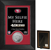 San Francisco 49ers Selfie Minted Coin Mini Mint