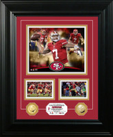 Colin Kaepernick Gold Coin Marquee Photo Mint