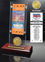Super Bowl 23 Ticket & Game Coin Collection