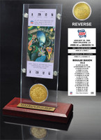Super Bowl 24 Ticket & Game Coin Collection