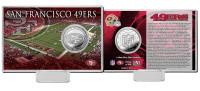 San Francisco 49ers Silver Coin Card