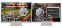 AT&T Park Silver Coin Card