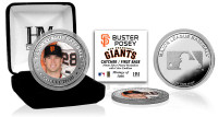 Buster Posey Silver Color Coin
