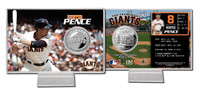 Hunter Pence Silver Coin Card