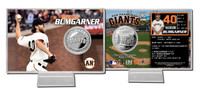 Madison Bumgarner Silver Coin Card