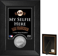 San Francisco Giants Selfie Minted Coin Mini Mint