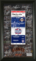 2012 NL Champions World Series Siganture Ticket