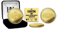 San Francisco Giants 2014 NL Champions Gold Mint Coin