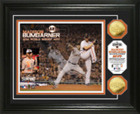 San Francisco Giants 2014 World Series Champions MVP Gold Coin Photo Mint