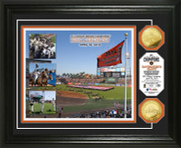 San Francisco Giants 2014 World Series Champions Ring Ceremony Gold Coin Photo Mint
