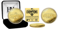 San Francisco Giants 2014 World Series Champions Gold Mint Coin