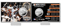 San Francisco Giants 2014 World Series Champions Silver Coin Card