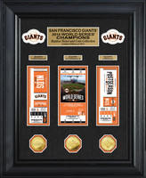 San Francisco Giants 2014 World Series Champions Deluxe Gold Coin & Ticket Collection