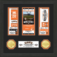 San Francisco Giants 2014 World Series Champions Bronze Coin Ticket Collection