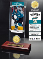 Logan Couture Ticket and Bronze Coin Desktop Acrylic