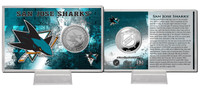 San Jose Sharks Silver Coin Card