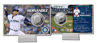 Felix Hernandez Silver Coin Card
