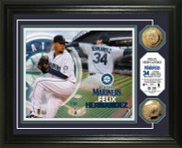 Felix Hernandez Gold Coin Photo Mint