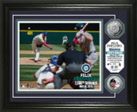 Felix Hernandez 2000th Career Strike Out Silver Coin Photo Mint