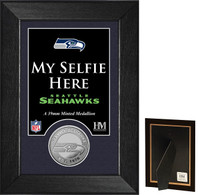 Seattle Seahawks Selfie Minted Coin Mini Mint