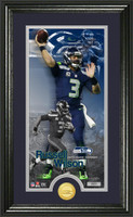 Russell Wilson Supreme Bronze Coin Panoramic Photo Mint