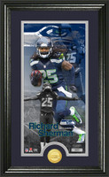 Richard Sherman Supreme Bronze Coin Panoramic Photo Mint