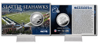 Seattle Seahawks Silver Coin Card
