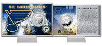 St. Louis Blues Silver Coin Card