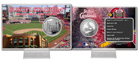 Busch Stadium Silver Coin Card