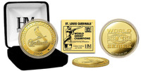 24KT Gold St. Louis Cardinals 2006 World Series Champions Coin