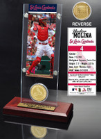 Yadier Molina Ticket & Minted Coin Acrylic Desk Top