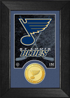 St. Louis Blues Bronze Coin Mini Mint