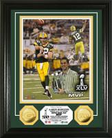 Super BowlxLV MVP 24KT Gold Coin Photo Mint