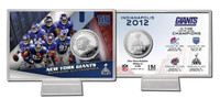 Super BowlxLVI Silver Coin Card