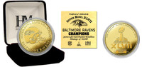Super BowlxLVII Champions Gold Coin