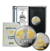Super BowlxLVII Official 2-Tone Flip Coin