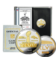 Super Bowl 48 Official Two-Tone Flip Coin