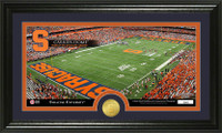 Syracuse University Stadium Bronze Coin Panoramic Photo Mint