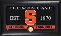 Syracuse University Man Cave Bronze Coin Panoramic Photo Mint