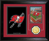 Tampa Bay Buccaneers Framed Memories Desktop Photo Mint