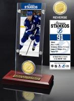 Steven Stamkos  Ticket and Bronze Coin Desktop Acrylic