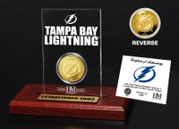 Tampa Bay Lightning Etched Acrylic Desktop