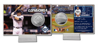 Evan Longoria Silver Coin Card