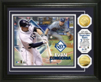 Evan Longoria Gold Coin Photo Mint